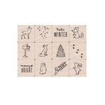 Hero Arts - Wintertime Animals Mini Tub