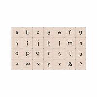 Hero Arts - Ink 'n' Stamp - Essential Letters