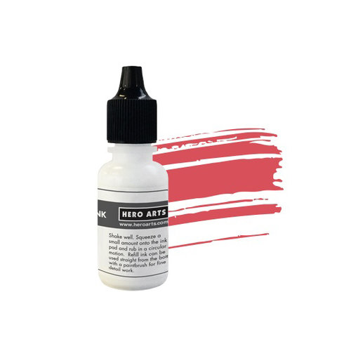Hero Arts - Dye Ink Pad - Reinker - Strawberry
