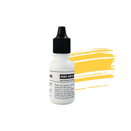 Hero Arts - Reactive Ink Pad - Reinker - Lemon Drop