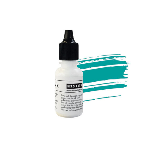 Hero Arts - Reactive Ink Pad - Reinker - Blue Raspberry