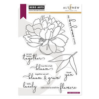 Hero Arts - Altenew - Clear Photopolymer Stamps - Bloom and Grow