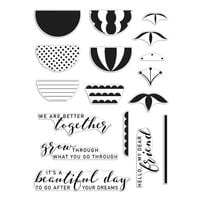 Hero Arts - Clear Photopolymer Stamps - Reverse Confetti Better Together