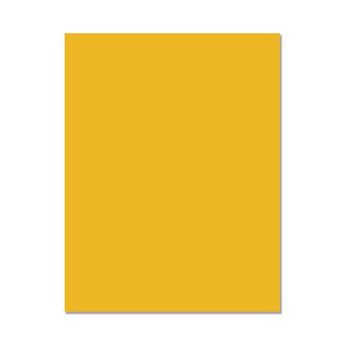 Hero Arts - Hero Hues - Premium Cardstock - 8.5 x 11 - Mustard - 10 Pack