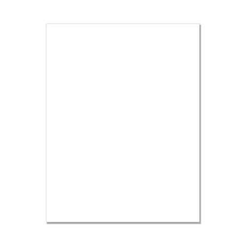 Hero Arts - Hero Hues - Premium Cardstock - 8.5 x 11 - Dove White - 25 Sheets