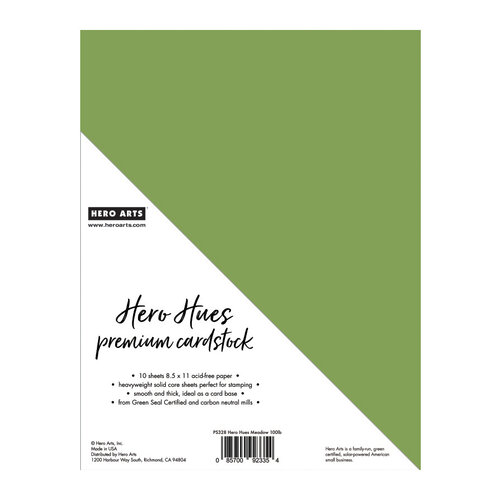 Hero Arts - Hero Hues - Premium Cardstock - 8.5 x 11 - Meadow - 10 Pack