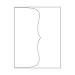 Hero Arts - Hero Hues - Envelopes - A2 - Dove White