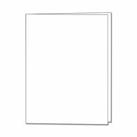Hero Arts - Hero Hues - Side Folded Cards - Dove White