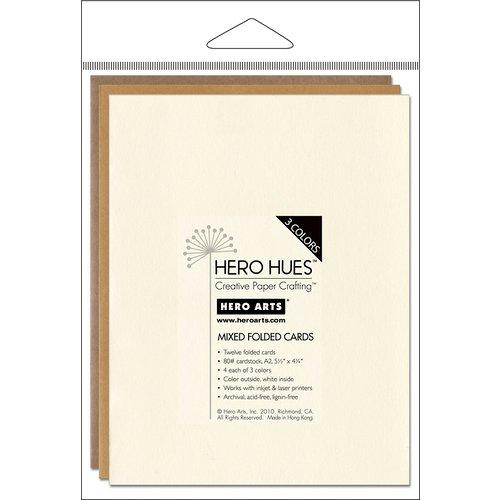 Hero Arts - Hero Hues - Mixed Folded Cards - Earth