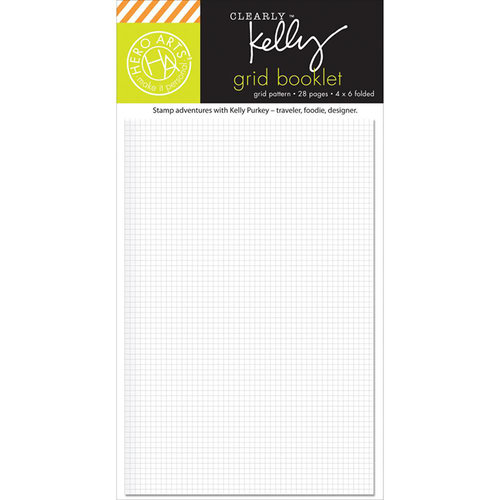 Hero Arts - Kelly Purkey Collection - Wallet - Grid Booklet