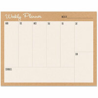 Hero Arts - Weekly Planner Pad - Undated