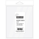Hero Arts - Acetate Sheets- 5 x 6 - 20 Pack