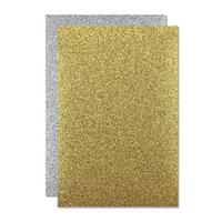 Hero Arts - Hero Hues - Premium Cardstock - 5.5x 8.5 - Glitter Paper - Holiday Sparkle