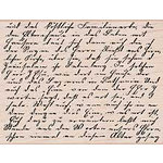 Hero Arts - Woodblock - Wood Mounted Stamps - Old Letter Writing