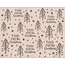 Hero Arts - Woodblock - Christmas - Wood Mounted Stamps - A Lot Like Christmas