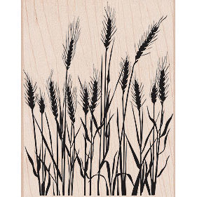Hero Arts - Woodblock - Wood Mounted Stamps - Silhouette Grass