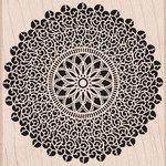Hero Arts - Woodblock - Wood Mounted Stamps - Starburst Lace