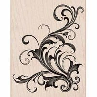 Hero Arts - Woodblock - Wood Mounted Stamps - Fabulous Flourish