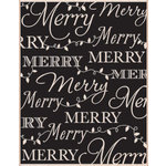 Hero Arts - Woodblock - Christmas - Wood Mounted Stamps - Merry Background