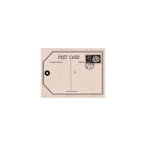 Hero Arts - Woodblock - Wood Mounted Stamps - Big Post Card