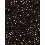 Hero Arts - Wood Block - Wood Mounted Stamp - Reverse Constellation Background