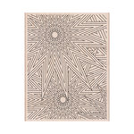 Hero Arts - Woodblock - Wood Mounted Stamps - Star Patterns Background