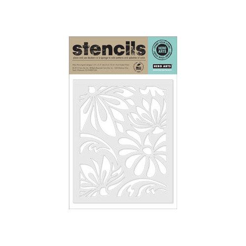 Hero Arts - Stencils - Large Lotus Pattern