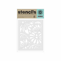 Hero Arts - Stencils - Large Lotus Pattern