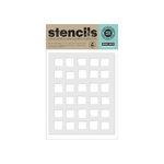 Hero Arts - Stencils - Irregular Checkerboard Background