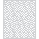 Hero Arts - BasicGrey - Stencils - Flag Pattern