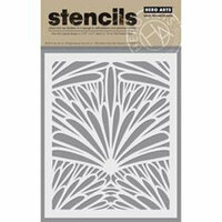 Hero Arts - Stencils - Tropical Background