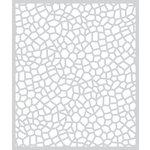 Hero Arts - BasicGrey - Adrift Collection - Stencil - Scales
