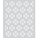 Hero Arts - BasicGrey - Prism Collection - Stencil - Medallion Patterned