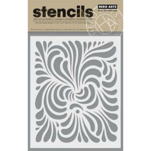 Hero Arts - Stencils - Swirl