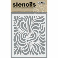 Hero Arts - Stencils - Swirl