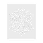 Hero Arts - Stencils - Star Snowflake