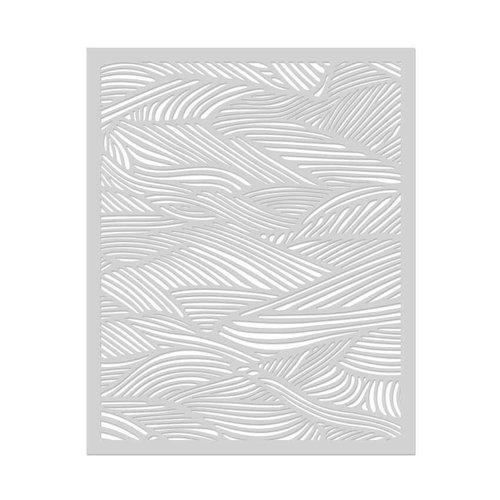 Hero Arts - Stencils - Waves