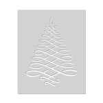 Hero Arts - Christmas - Stencils - Calligraphic Tree