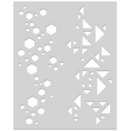 Hero Arts - Stencils - Graphic Pattern