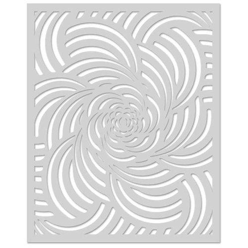 Hero Arts - Stencils - Spiral Petals