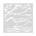 Hero Arts - Stencils - Mermaid Sea Waves