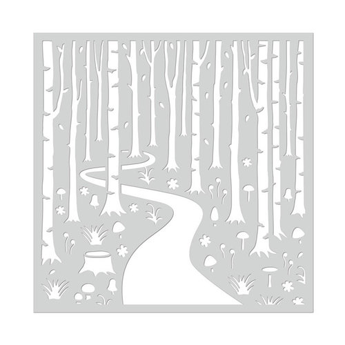 Hero Arts - Stencils - Into The Woods