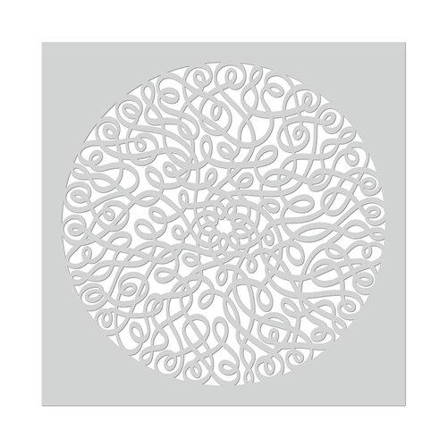 Hero Arts - Stencils - 6 x 6 - Mandala Swirl