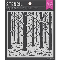 Hero Arts - Stencils - Woodland Forest