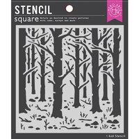 Hero Arts - Stencils - Woodland Forest