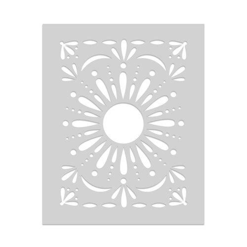 Hero Arts - Stencils - Flourish Sun