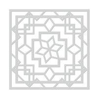 Hero Arts - Stencils - Art Deco Lotus