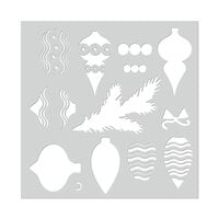 Hero Arts - Christmas - Stencils - Layering Ornaments and Trimmings