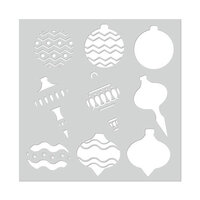 Hero Arts - Christmas - Stencils - Layering Ornaments