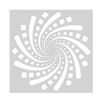 Hero Arts - Stencils - Geometric Spiral